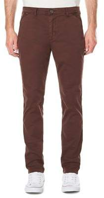 Buffalo David Bitton Straight-Leg Twill Pants