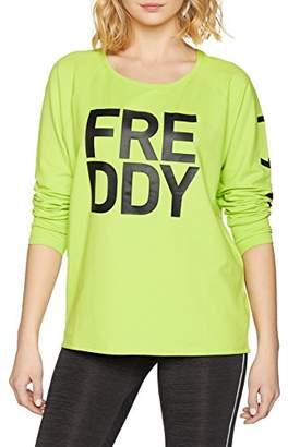 Freddy – s8-cgr-ws369l01h00, Women Sweatshirt, Women's, S8-CGR-WS369L01H00,(Taglia produttore:M)