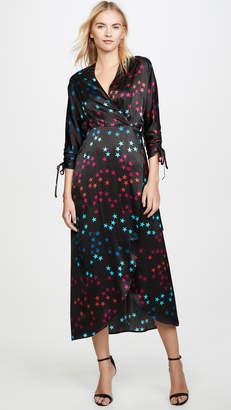 Veda Nasa Silk Wrap Dress
