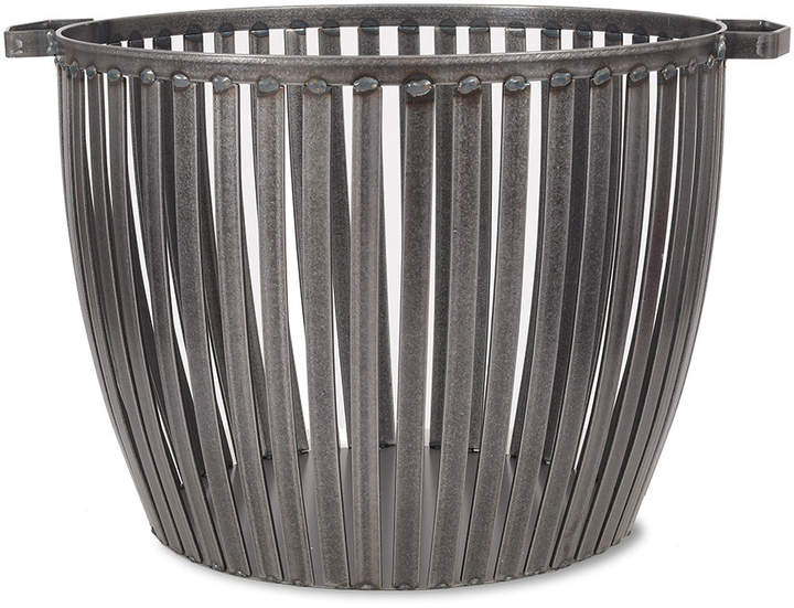Garden Trading - Lodge Fireside Log Basket - Steel - Large