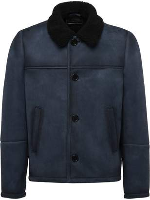 Prada sheepskin jacket