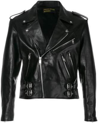 Enfants Riches Deprimes cropped biker jacket