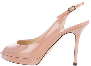 Jimmy Choo Jimmy Choo Nova Patent Leather Pumps