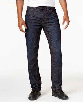 Sean John Men's Big & Tall Bedford Slim-Straight Fit Flap-Pocket Jeans $89 thestylecure.com