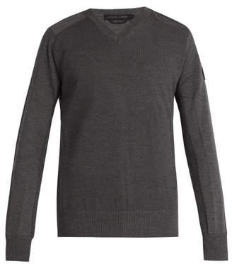 Canada Goose Mcleod Merino Wool Sweater - Mens - Dark Grey