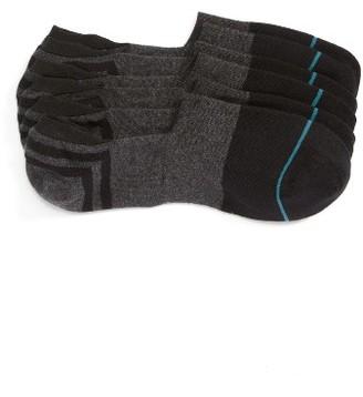 Men's Stance Gamut 3-Pack No-Show Liner Socks $25 thestylecure.com