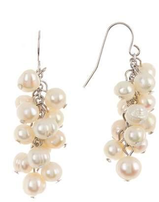 Carolee Freshwater Pearl Cluster Earrings