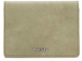 Diesel (ディーゼル) - DIESEL レザー カードケース カーキ uni