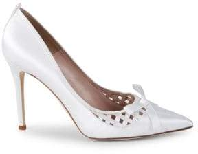 Sarah Jessica Parker Kiss Satin Weave Pumps/4""