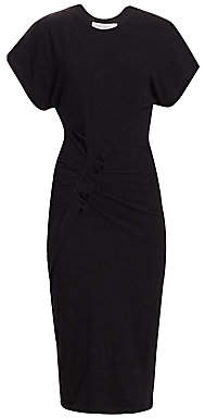 IRO Women's Wilco Ruched Cap Sleeve Dress