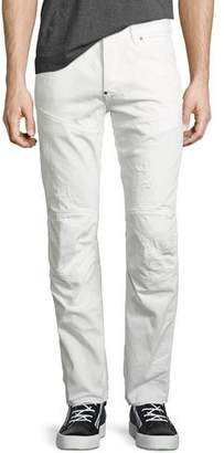 G Star G-Star 5620 Elwood 3D Tapered & Distressed Jeans, Light Aged Restored 130