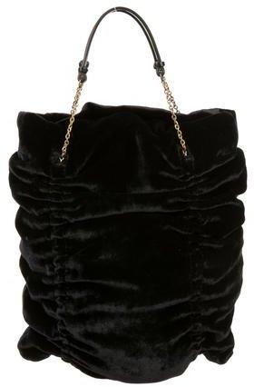Miu MiuMiu Miu Velvet Handle Bag