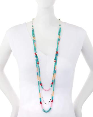 Nakamol Delicate Beaded Triple-Strand Necklace