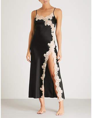 Marjolaine Etincelle stretch-silk night dress
