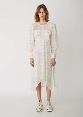 Isabel Marant Adonis Checked Organza Dress