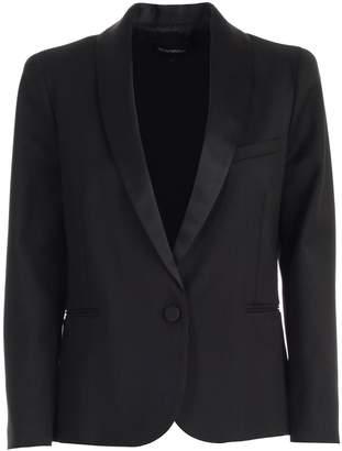 Emporio Armani Jacket Tuxedo Collar Satin