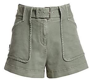 Derek Lam 10 Crosby Women's Belted Chino Shorts