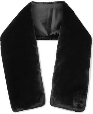 Marc Jacobs Faux Fur Wrap - Black