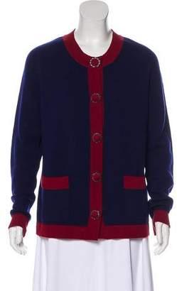 Chanel Cashmere Knit Cardigan