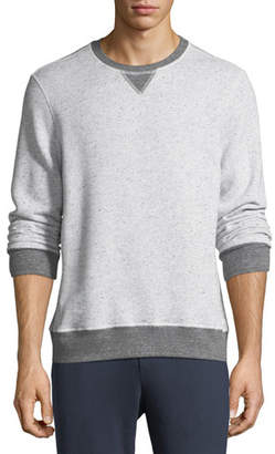 Sol Angeles Peppered Fleece Pullover Sweater