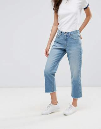 Only Straight Cropped Jeans