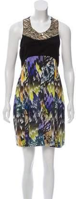 Matthew Williamson Silk Mini Dress