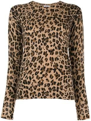 P.A.R.O.S.H. leopard print sweater