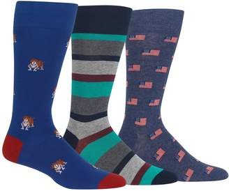 Chaps Men's 3-pack Solid Supersoft Crew Dress Socks