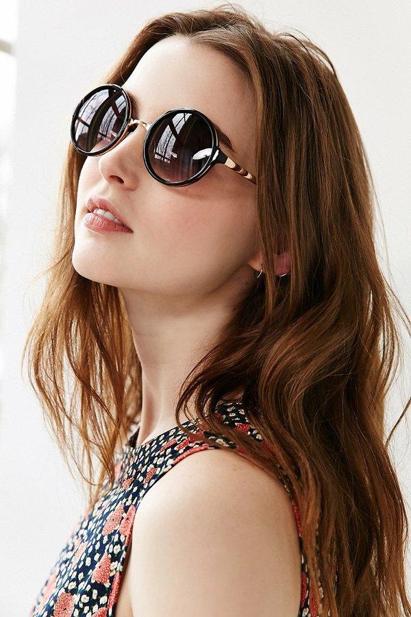 Both Worlds Round Sunglasses 6