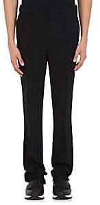 Givenchy Men's Cotton-Wool Jacquard Slim Trousers - Black
