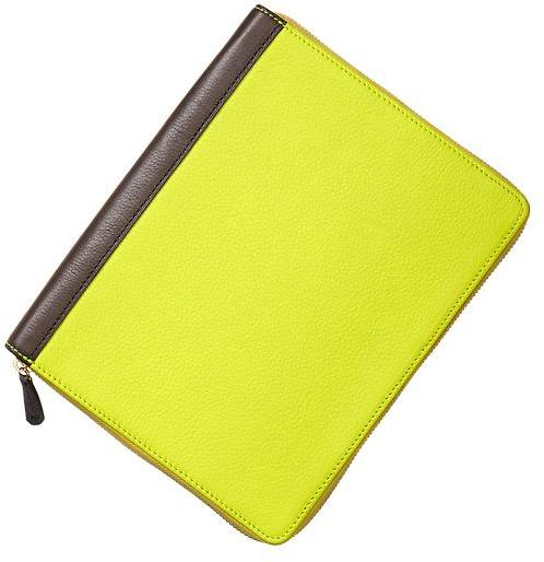 Gap Two-tone leather tablet case