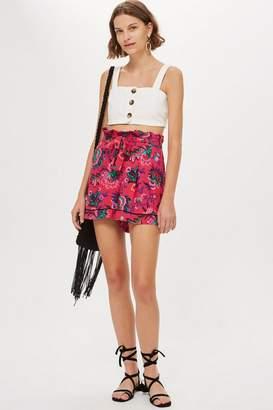 Topshop Floral Pyjama Shorts
