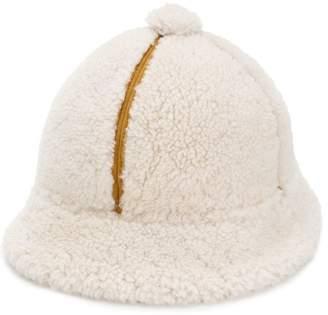 DSQUARED2 shearling cap