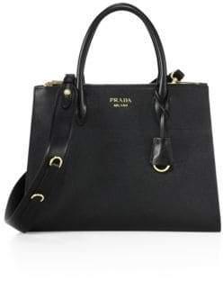 Prada Paradigme Saffiano Leather Satchel