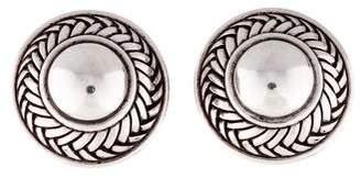 Kieselstein-Cord Textured Clip-On Earrings