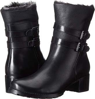 191a44d5601 Blondo Black Stacked Heel Women s Boots - ShopStyle