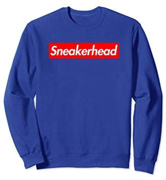 Sneakerhead Red Box Logo Crewneck Sweatshirt