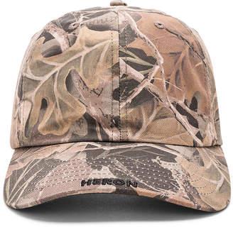 Heron Preston Camo Leaf Cap