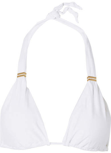 Vix Bia Triangle Bikini Top - White