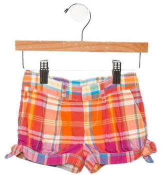 Ralph Lauren Girls' Plaid Shorts