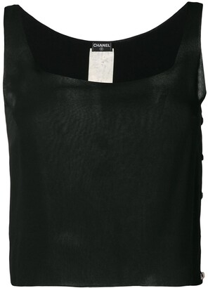 Chanel Pre-Owned 2000's plain top