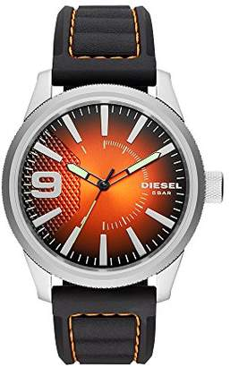 Diesel Men's 'Rasp NSBB' Quartz Stainless Steel and Silicone Casual Watch