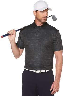 Men's Grand Slam On Course Classic-Fit Argyle Jacquard Performance Golf Polo