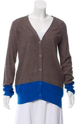 Alexander Wang Colorblock V-Neck Cardigan
