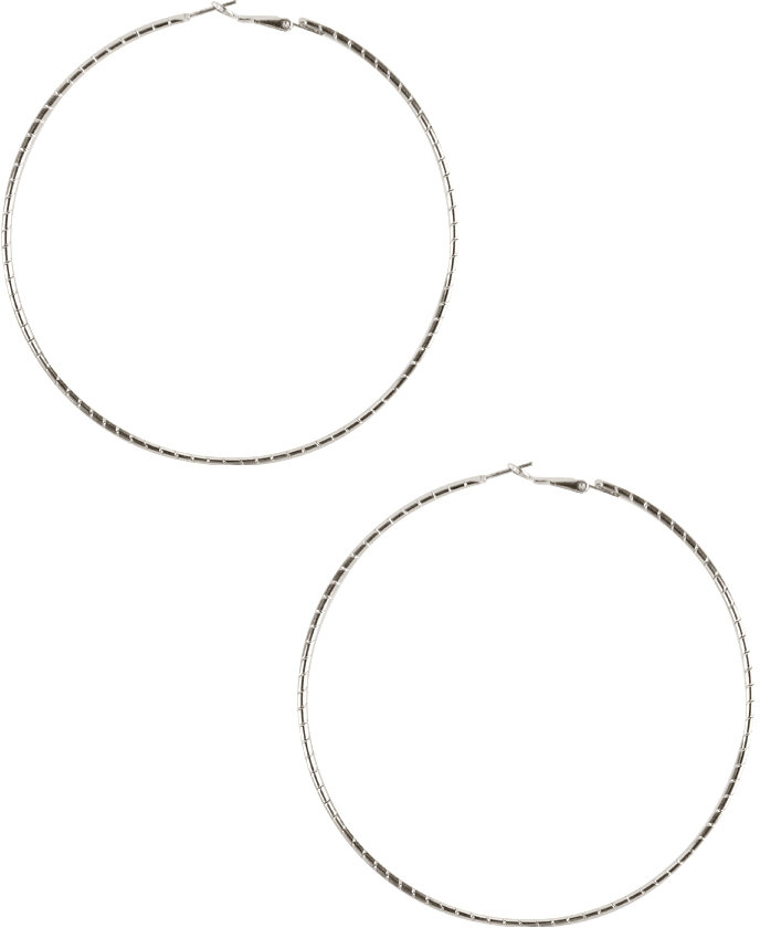 Stand Out Hoop Earrings