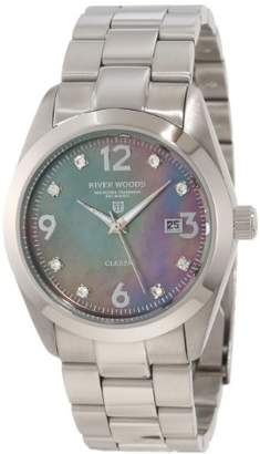 Mother of Pearl River Woods Women's RW 3 M GP SD SS Grey mother-of-pearl Watch