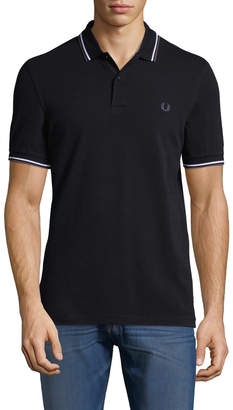 Fred Perry Men's Woven Polo