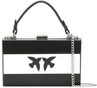 Pinko bow clutch