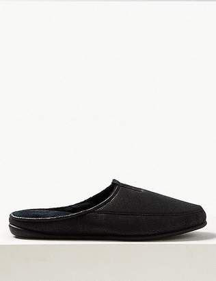 """Marks and Spencer Slip-on Mule Slippers with Freshfeetâ""""¢"""