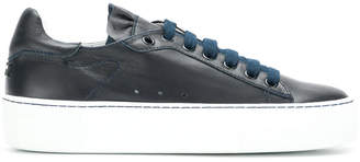 Jil Sander Navy lace-up sneakers